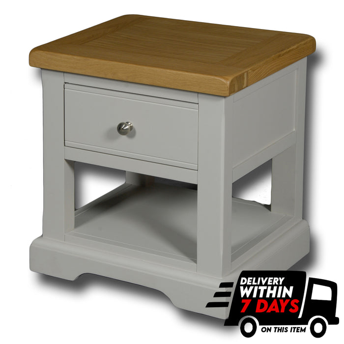 Oxford Painted 1 Drawer Lamp Table