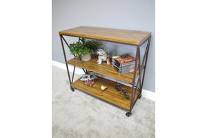 Loft Collection Industrial Shelf Unit