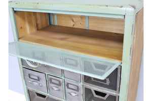Loft Collection Industrial Drawer Cabinet