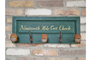 Loft Collection Golf Club Coat Hook