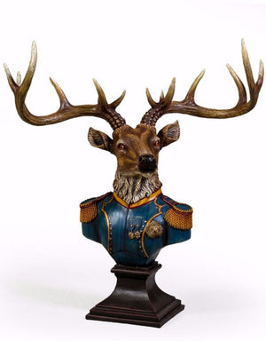 Loft Collection Large Gentry Stag Bust