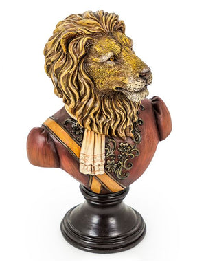 Loft Collection Gentry Lion Bust