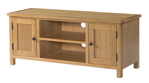 Burford Oak Large TV Unit | A Touch of Furniture Oxfordshire