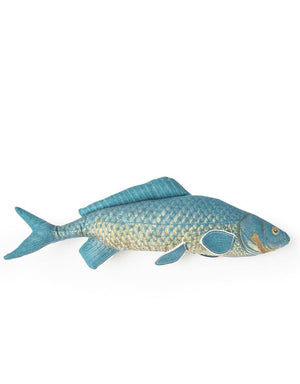 Loft Collection Blue Fish Cushion