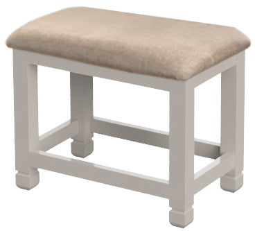Cobble Painted Dressing Table Stool