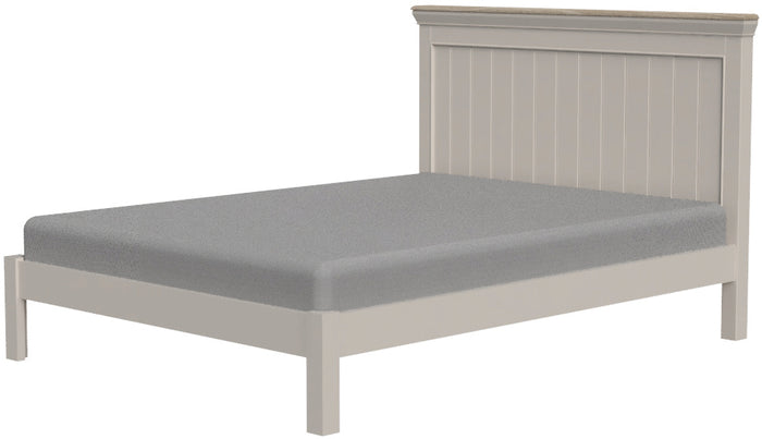 "Cobble Painted 5"" King Size Bed"