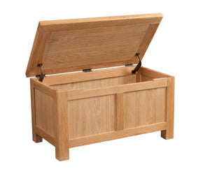Bicester Oak Blanket Box | A Touch of Furniture Oxfordshire