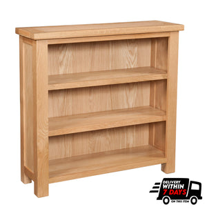 Bicester Oak 3ft Bookcase