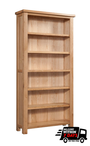 Bicester Oak 6ft Bookcase