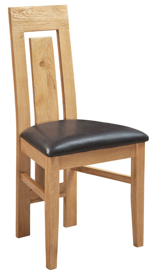 Bicester Oak Verona Dining Chair | A Touch of Furniture Oxfordshire