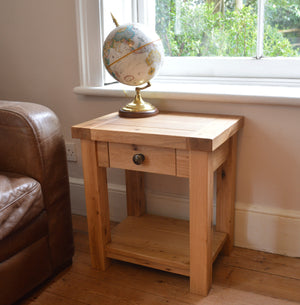 Wessex Lamp Table with Drawer