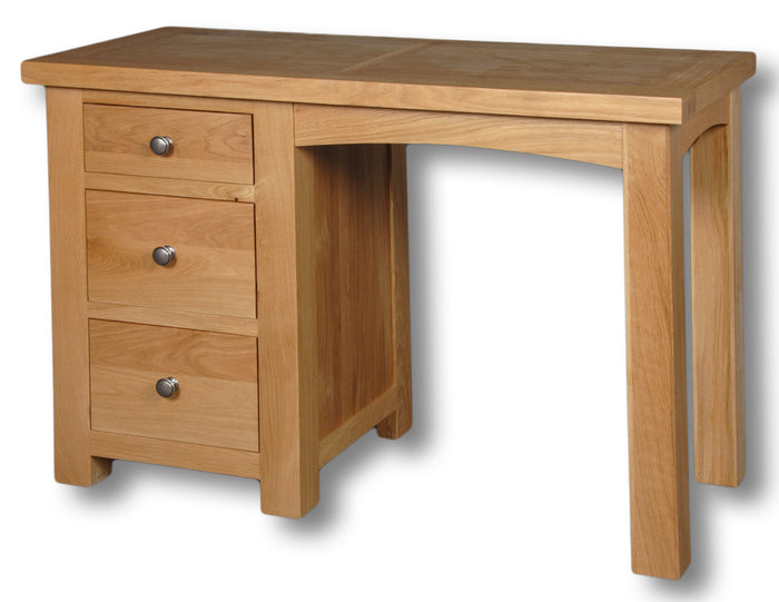 Woodstock Oak 3 Drawer Dressing Table