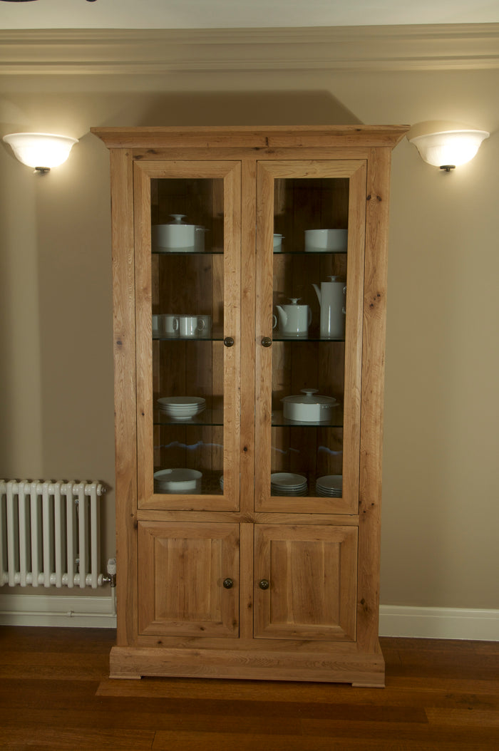 Wessex 2 Door Glazed Cabinet