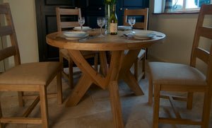 Wessex Circular Dining Table