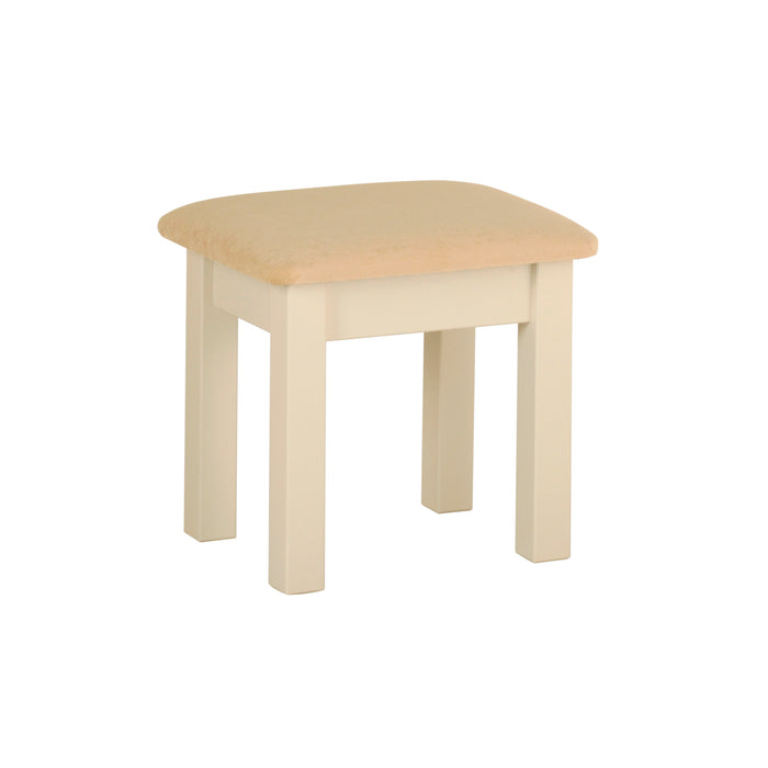 Lundy Pine Painted Stool