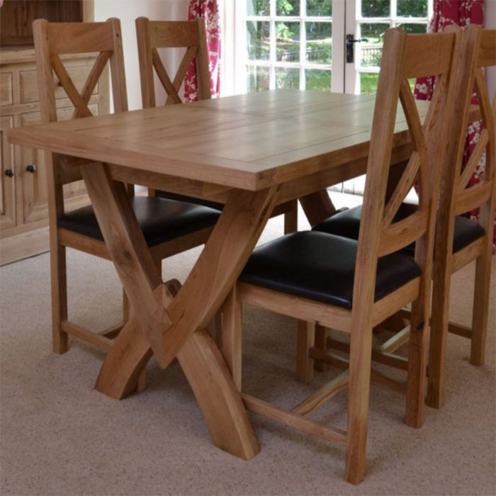Wessex Petite Ox Box Extending Dining Table