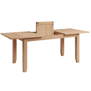 Riva Oak 1.6m Extending Dining Table