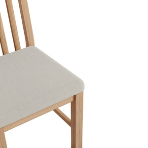 Rival Oak Dining Chair
