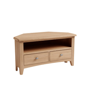 Riva Oak Corner TV Cabinet