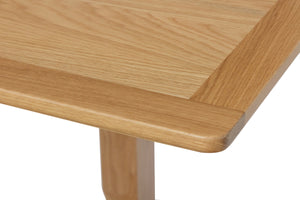 Riva Oak Flip Top Extending Dining Table