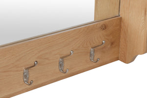 Riva Oak Hallway Bench Top