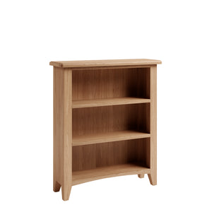 Riva Oak Small Wide Bookcase