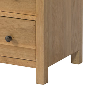 Burford Oak Console Table with 2 Drawers | A Touch of Furniture