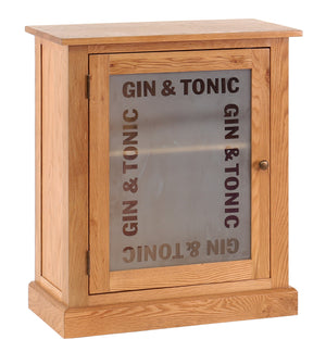 Vancouver Petite Oak Gin & Tonic Drinks Cabinet | A Touch of Furniture Oxfordshire