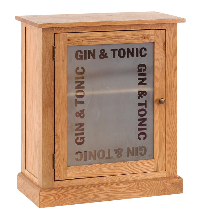 Vancouver Petite Oak Gin & Tonic Drinks Cabinet