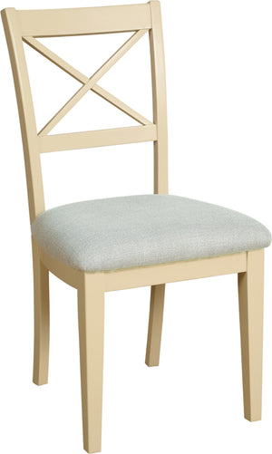 Lundy Pine Painted Crossback Dining Chair