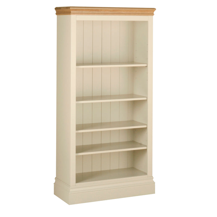 Lundy Pine Painted 5ft Bookcase