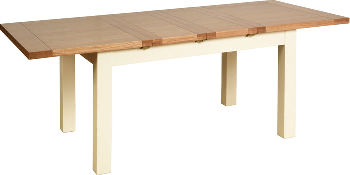 Lundy Pine Painted 4ft 6ins Extending Dining Table