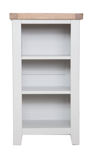 Melbourne Painted Small Bookcase / DVD Rack  in French Grey | A Touch of Furniture Oxfordshire