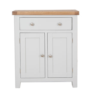 Melbourne Painted Hall Cabinet in French Grey | A Touch of Furniture Oxfordshire