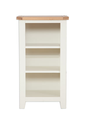 Melbourne Painted Small Bookcase / DVD Rack  in Ivory | A Touch of Furniture Oxfordshire