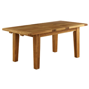 Vancouver Petite Oak Extending Dining Table 1.4m - 1.8m | A Touch of Furniture Oxfordshire