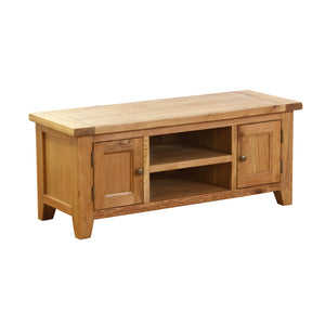 Vancouver Petite Oak TV Unit with 2 Doors and 1 Shelf | A Touch of Furniture Oxfordshire