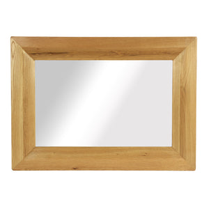 Vancouver Petite Oak Rectangular Mirror | A Touch of Furniture Oxfordshire