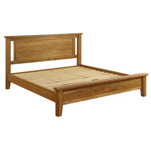 Vancouver Petite Oak 4ft 6in Double Bed | A Touch of Furniture Oxfordshire
