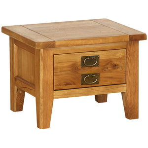 Vancouver Petite Oak Small Coffee Table with 2 Drawers