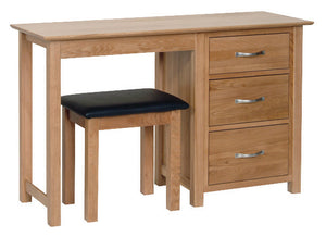 Hearts of Oak Single Pedestal Dressing Table