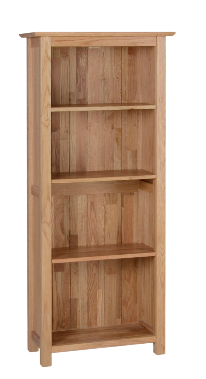 Hearts of Oak 5ft Narrow Bookcase