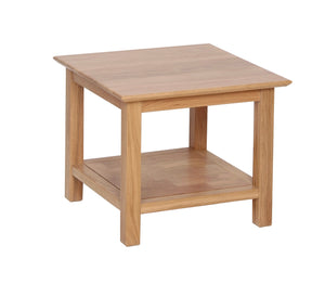 Hearts of Oak Small Coffee Table with Shelf