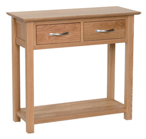 Hearts of Oak 2 Drawer Console Table