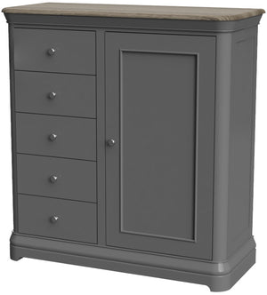 Pebble Painted Gents Chest | A Touch of Furniture Oxfordshire