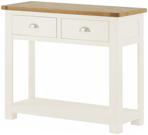 Cherwell Painted 2 Drawer Console Table | A Touch of Furniture Oxfordshire