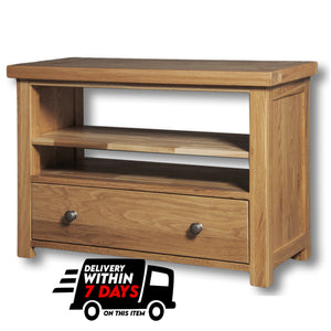 Woodstock Oak TV Unit / Coffee Table with 1 Drawer