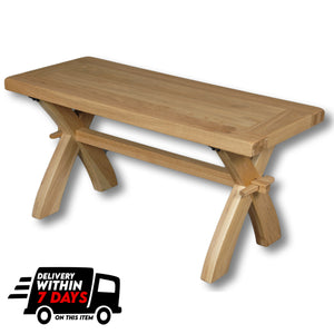 Manhattan Oak 900mm Bench / Coffee Table