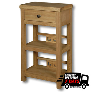 Manhattan Oak Mini Bathroom Cabinet