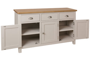 Stratford Painted 3 Door 3 Drawer Sideboard